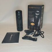 Nowpresso Npfp18001 Espresso Machine With Car Charger And Ac Adaptor 9.9