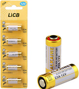 Licb A23 23a 12v Alkaline Battery 5-pack