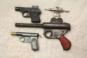 Lot Of 1930and039s Buck Rogers Atomic Space Ray Pistol Daisy All Steelandnbspvintage And More