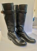 Gallop 2 Black Knee High Riding Boots Womens Size 11
