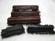 Lionel 726 1946 W/ 2426w And 3 2625 Ex