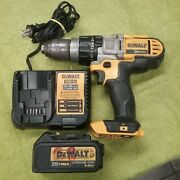 Dewalt Dcd985 20v Cordless Hammer Drill With 3.0 Battery And Charger