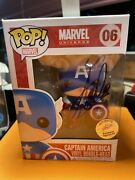 Stan Lee Signed Autographed Captain America 0funko Pop Excelsior Authenticated