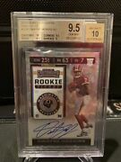 2019 Panini Contenders /23 Cracked Ice Auto Dwayne Haskins Bgs 9.5 10 Rc Rookie