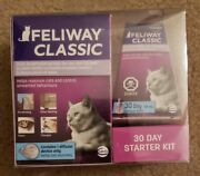 Feliway Classic Cat Plug In Diffuser Kit Cats 30 Day Starter Kit