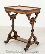 Victorian Occasional Side Table Rosewood Circa 1850