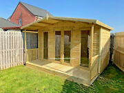 Summerhouse Contemporary Shed Cabin Gym Office Veranda Man Cave Summer House