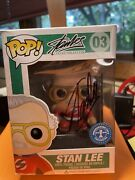 Stan Lee Funko Pop 03 Signed By Stan Lee New York Comic Con Underground Toys Exc