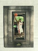 Lebron James 2003-04 Topps Matrix 111 Framed Double Double Parallel Rc Ssp Rare