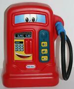 Little Tikes Gas Pump Cozy Pumper Red Pretend Sounds Free Shipping