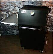 Bbq Smoker Big Daddy Smoker - Rotisserie - Grill - All In One Made In Usa