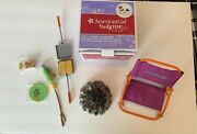 American Girl Doll Adventure Campfire Set For Dolls Used