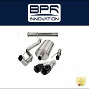 Corsa Performance Xtreme Cat-back Exhaust System For F-150 Raptor-14760blk