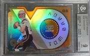 2000 Playoff Momentum Oand039s 180 Tom Brady Rc And039d/60 Pop 7 Bgs 9 Mint