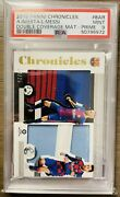 Pop2🔥/25🔥lionel Messi Andres Iniesta Panini Chronicles Double Patch Psa 9 2019