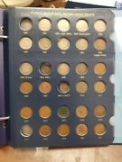 Beautiful Indian And Flying Eagle Cent Set 54/58 Coins