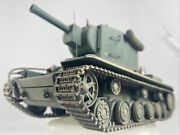 Pro Built 135 Scale Russian Kv-2 1944 Heavy Tank Weathered Paint 1 Commander