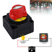Battery Isolator Disconnect Switch Power Cut Off/on For Marine Boat 300a 12v-48v