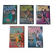 Brand New Lot Of 5 Dvds Set Richard Simmons Sweatinand039 To The Oldies Time Life Nip
