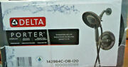 Delta Porter In2ition 2-in-1 Single-handle Shower Faucet In Oil Bronze