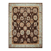 9and0392and039and039 X 12and0391and039and039 Tufenkian Hand Knotted Arts And Craft Oriental Area Rug Chocolate