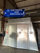 Paint Booth, Metal, With Bananza Air System
