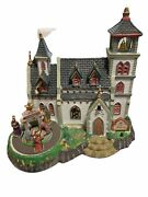 Lemax Christmas Village Church Of The Nativity Musical Animated Ceramic House