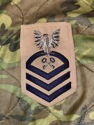 Us Navy Rate Bullion Chief Store Keeper Petty Cpo Khaki Rate Patch 1950s Vietnam
