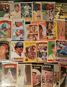 Low End Vintage Baseball Card Collection Over 320 Cards 1930and039s-1970and039s.