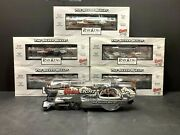 Mth Premier 30-1433-1 Coors Light Silver Bullet Train Set Ps 2.0 And 2 Add-on Mib