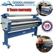 Us Stock Qomolangma 110v 63in Full-auto Wide Format Cold Hot Laminator Up To 40℃
