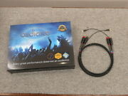 Audience Au24 Sx Phono High Z Rca-rca 1.0m Pair Tube Cleaner Cord Audio Cable