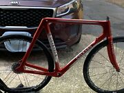 C4 Carbon Frame Painted As A Andldquocolnago Carbon Voloandrdquo