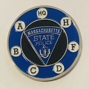 Sought After-unique-massachusetts State Police -police Challenge Coin