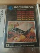 Cameron Vintage Stovetop Smoker Cooker Stainless Steel Heavy Duty Smoker New