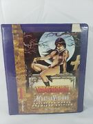 1996 Vampirella Topps Master Visions Complete Set - 36 Large Trading Cards And Box