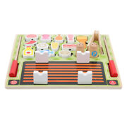 1 Set Durable Portable Simulation Barbecue Cognitive Toy For Girls Kids Boys