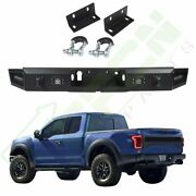 Steel Rear Bumper Assembly For Ford F150 2017 Standard Protector Face Bar Truck