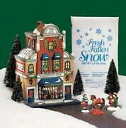 Department 56 Christmas In The City Scottie's Toy Shop Gift Set 56.58871 New