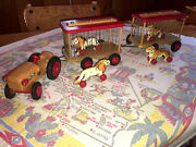 This 1940-1970 Vintage Verhofa German Circus Train Is In Excellent Condition