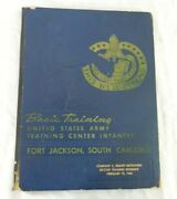 1960 Us Army Training Center Fort Jackson Yearbook Co C 8th Bn 2nd Infantry Regt