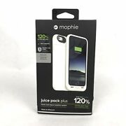 New Mophie Juice Pack Plus White External Battery Case For Apple Iphone 6 And 6s