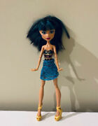 Monster High 13 Wishes Cleo De Nile Doll With Stand