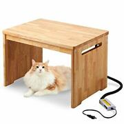 Oh Ft Over Far-infrared Heater With Side Table Dog Cat Winter Far-... From Japan