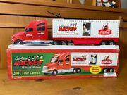 Mickey Transporter Coca-cola Trailer Mouse Approximately 40 Cm From Japan