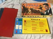 """Rare 1965 Man From Uncle Board Game Made By The """"ideal"""" Company"""