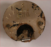 World War 2 Aircraft Instrument With Letters Eng