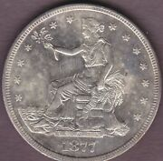 1877-s Trade 1 Choice Bu With Proof Like Surfaces