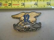 Rare Nsw Special Boat Team 12 Fast Boats Operations Navy Challenge Coin 1 Seal