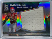 2017 Spectra Patrick Mahomes Rookie Immense Materials Jersey 15/199 1/1 Jersey